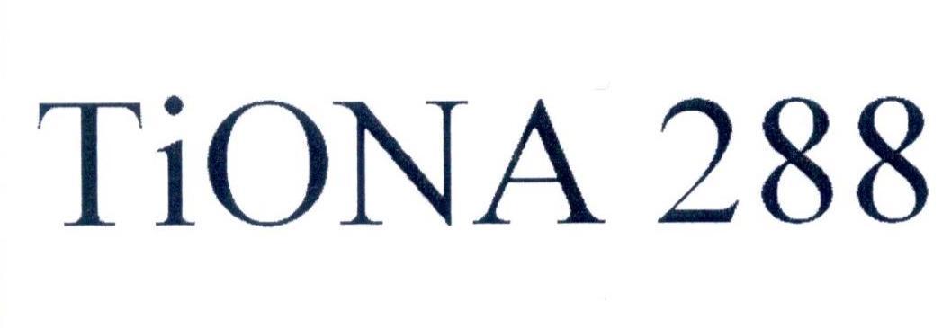 TIONA 288 商标公告