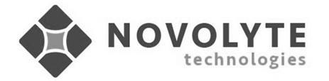 NOVOLYTE TECHNOLOGIES 商标公告
